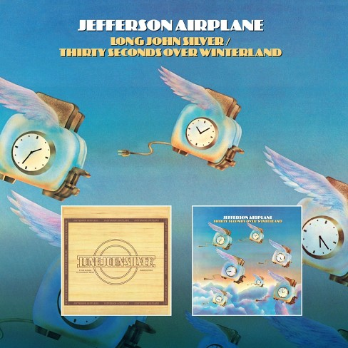 Airplane Jefferson - Long John Silver/Thirty Seconds Over Winterland (CD) - image 1 of 1