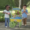 American Plastic Toys Kids My Very Own First Ice Cream Cart Stand Role Play Set - image 2 of 4