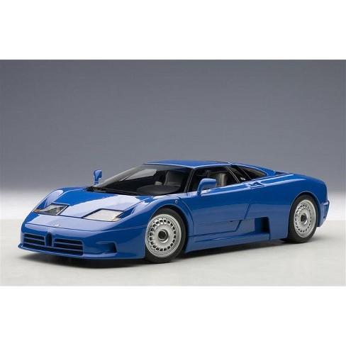 Bugatti EB110 GT Blue 1/18 Diecast Model Car by Autoart
