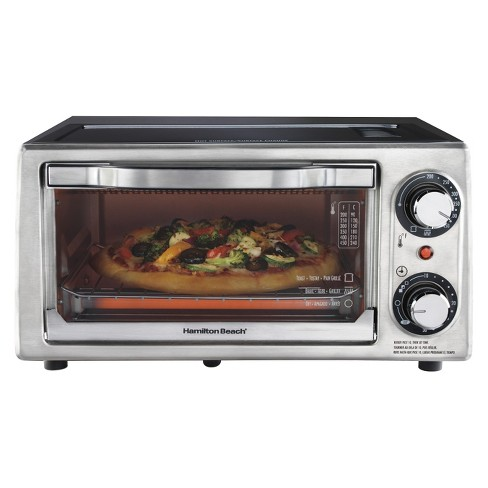 Hamilton Beach Toaster Oven - Black (4 Slice)- 31137 - image 1 of 4