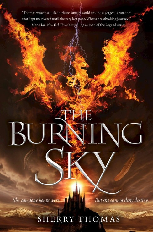 Burning Sky (Hardcover) (Sherry Thomas) - image 1 of 1