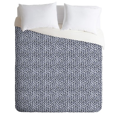 Indigo Little Arrow Design Co Arcadia Duvet Cover - Deny Designs