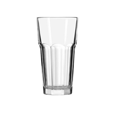 12.5oz Glass Tremont Tall Faceted Tumbler - Threshold™