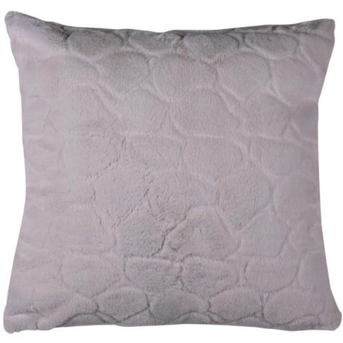 Rena Pillow Pearl White 20 X 20 Safavieh Target