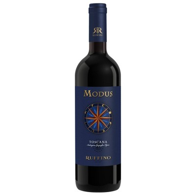 Ruffino Modus Toscana IGT Italian Red Wine - 750ml Bottle
