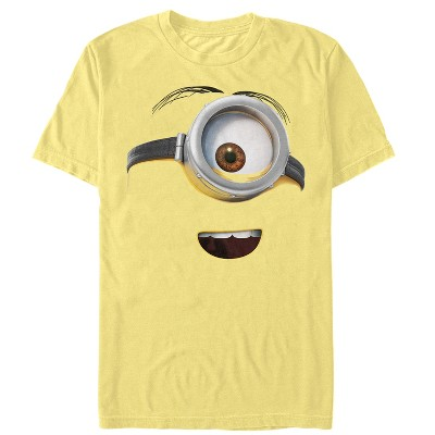 Men's Despicable Me One Eyed Minion Costume T-Shirt