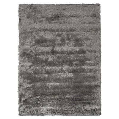Faux Sheep Skin Rug - Gray - (2'X3')- Safavieh®