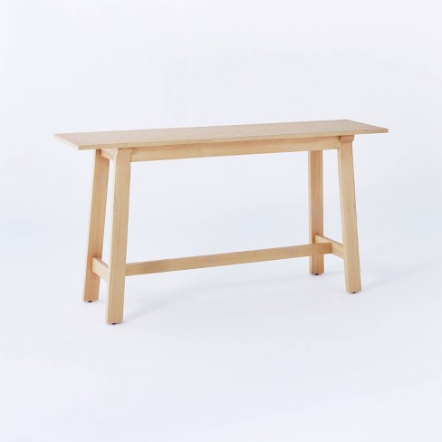 Anaheim Wood Console Natural - Threshold™ designed with Studio McGee - image 1 of 4
