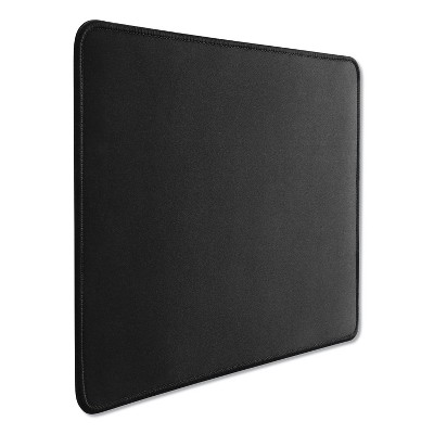 Innovera Large Mouse Pad, Nonskid Base, 9 7/8 x 11 7/8 x 1/8, Black 52600