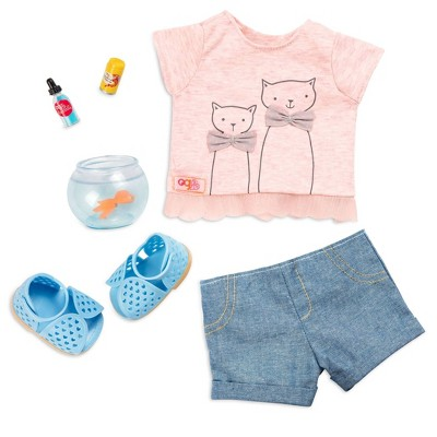 """Our Generation Fashion Outfit for 18"""" Dolls - Playtime Pets"""