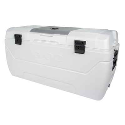 Igloo MaxCold Hard Sided 165qt Portable Cooler - White