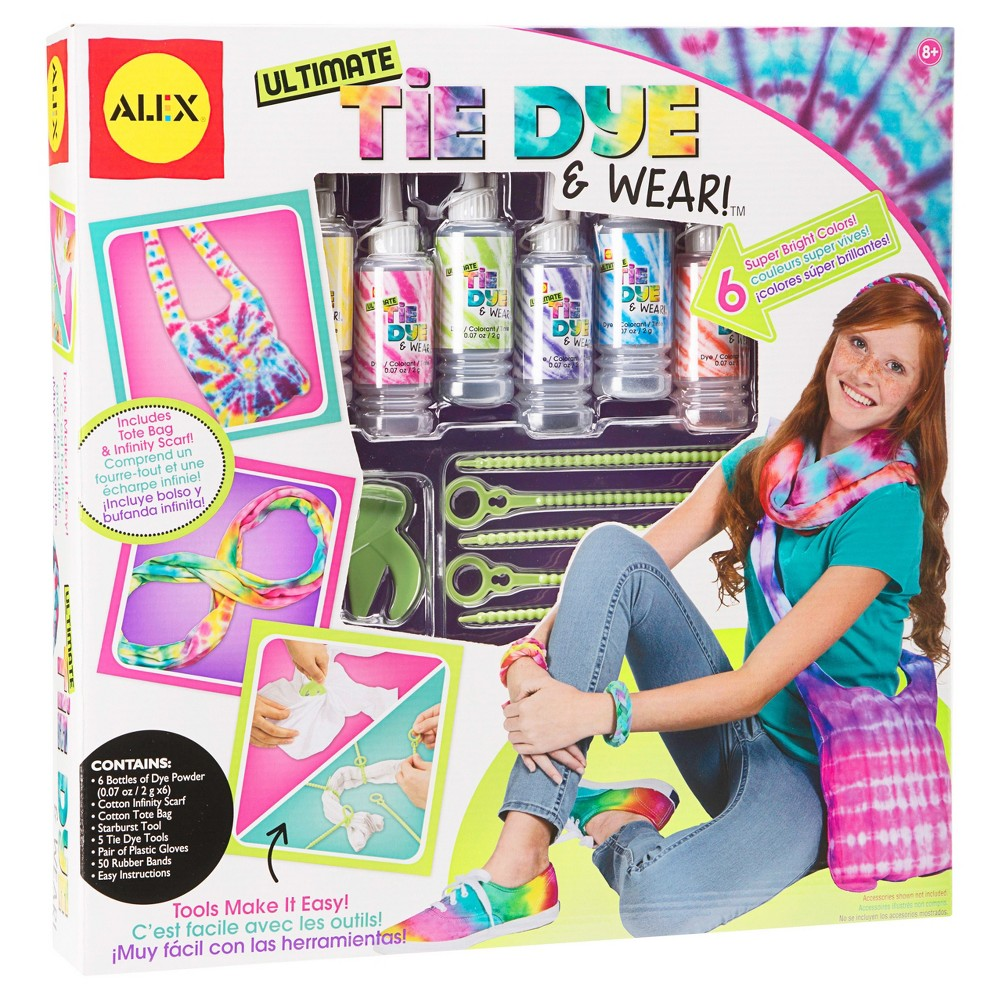 Alex Toys Do-it-Yourself Wear Ultimate Tie Dye & Wear