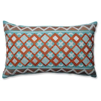 """Orange Throw Pillow Belize (20""""x12"""") - Pillow Perfect"""