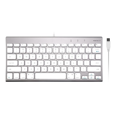 Macally Compact Aluminum Design Keyboard