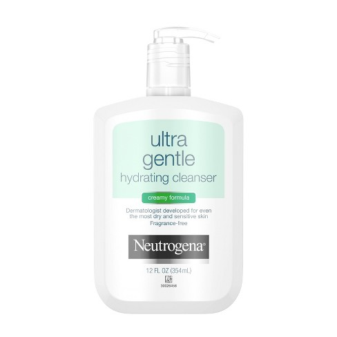 Neutrogena Ultra Gentle Hydrating Creamy Facial Cleanser - 12 fl oz - image 1 of 4