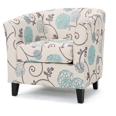 Preston Fabric Club Chair - Christopher Knight Home