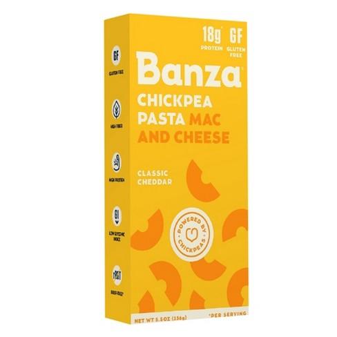 Banza Chickpea Pasta Mac and Cheddar Classic Cheddar 5.5oz - image 1 of 1