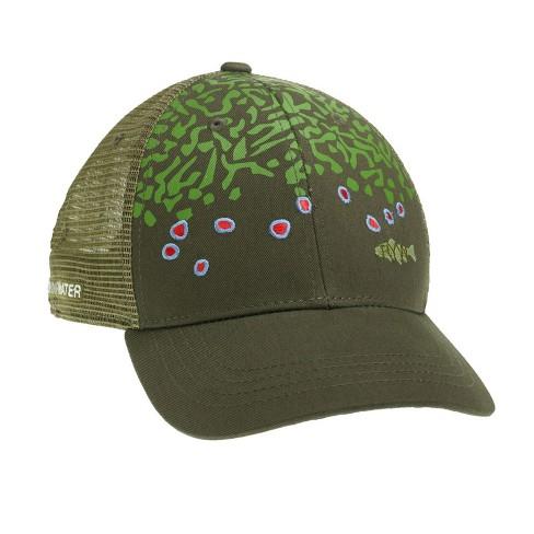 c39d1fe5c7 RepYourWater Brook Trout Skin Mesh Back Hat   Target