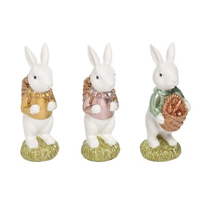Gallerie II White Chocolate Bunny Easter Figurine A/3