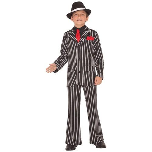 Halloween Kids Gangster Guy Halloween Costume XL Men S