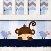 Bedtime Originals 3-Piece Crib Bedding Set - Mod Monkey - image 4 of 4