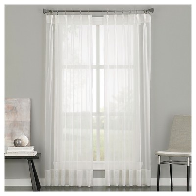 Soho Voile Pinch Pleat Curtain Panel - Curtainworks