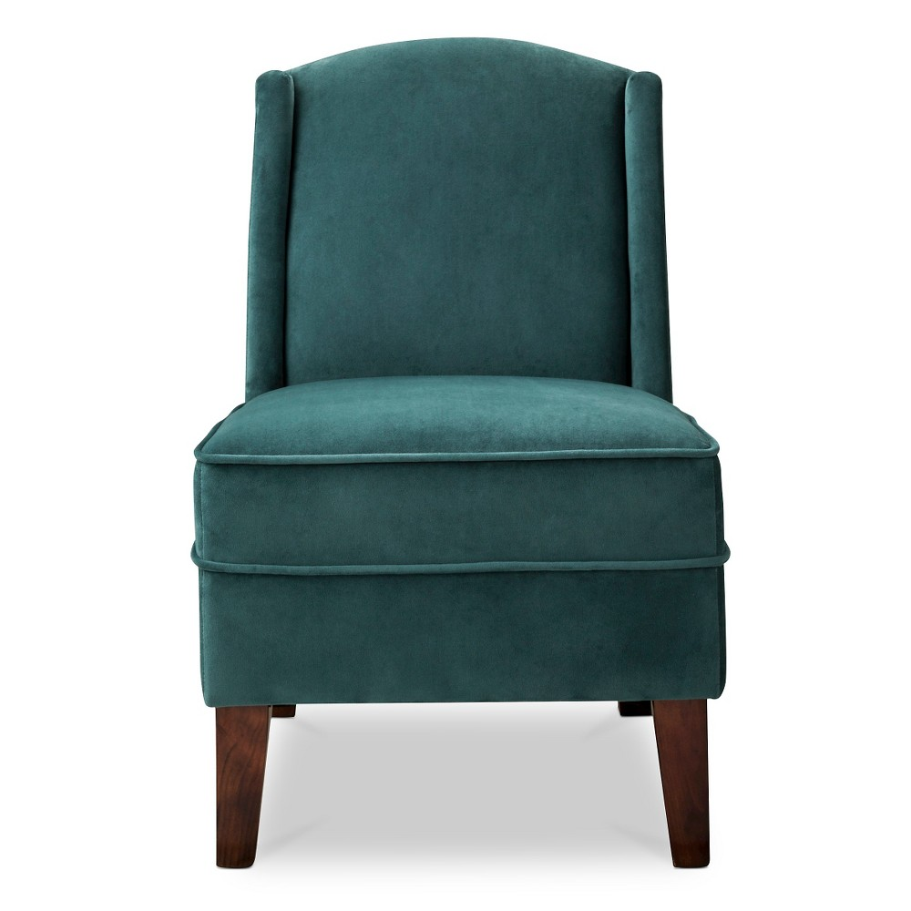 Modified Wingback Chair - Emerald (Green) - Threshold