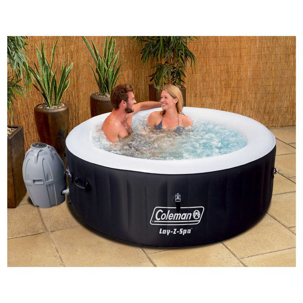 Coleman Lay-Z-Spa Inflatable Hot Tub - Black