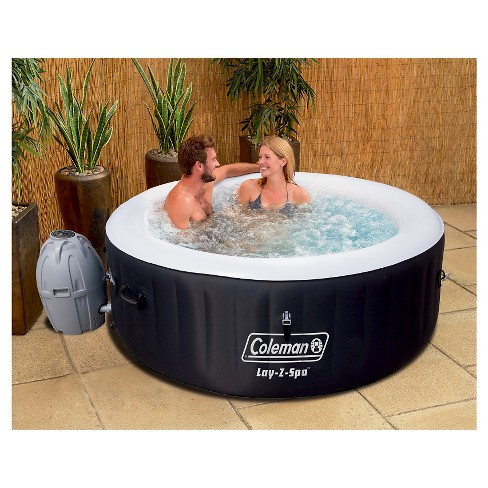 Coleman Lay Z Spa Inflatable Hot Tub Black Target