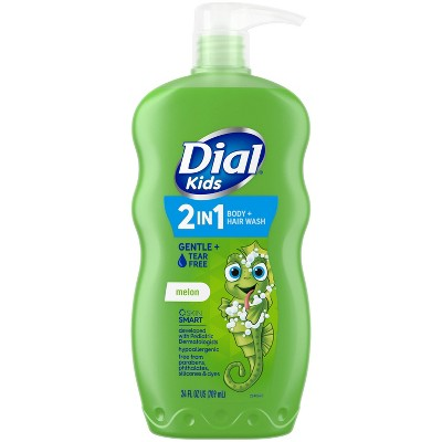 Dial Melon 2-in-1 Body and Hair Wash for Kids - 24 fl oz