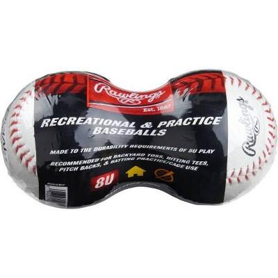 Rawlings 8 and Under Baseball - 2pk