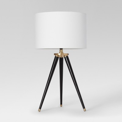 Delavan Tripod Table Lamp Black - Project 62™