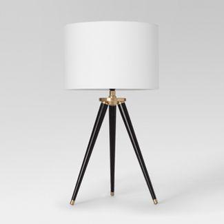 Delavan Tripod Table Lamp Black Lamp Only - Project 62™