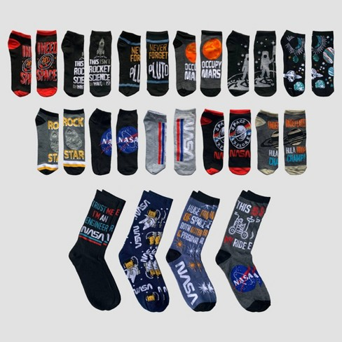 Men's NASA 15 Days of Socks Advent Calendar - Assorted Colors One Size - image 1 of 3