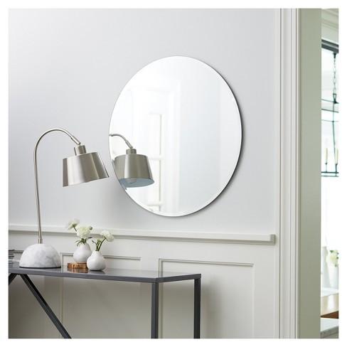 Round Frameless Decorative Wall Mirror - Threshold™ : Target
