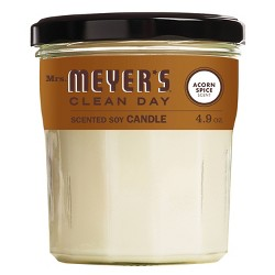 Mrs. Meyer's Clean Day Soy Candle - Acorn Spice - 4.9oz
