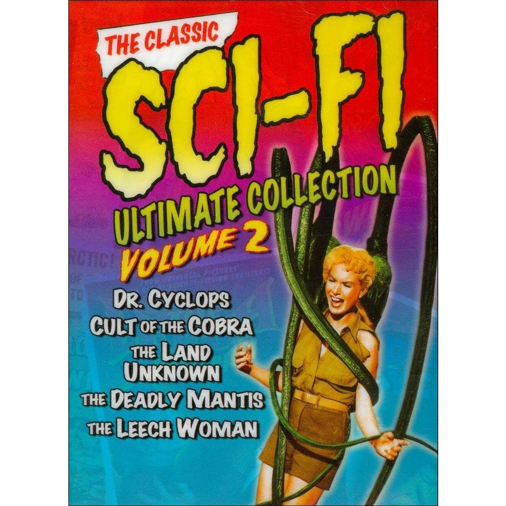 Classic Sci Fi Collection Vol 2 (Dvd)