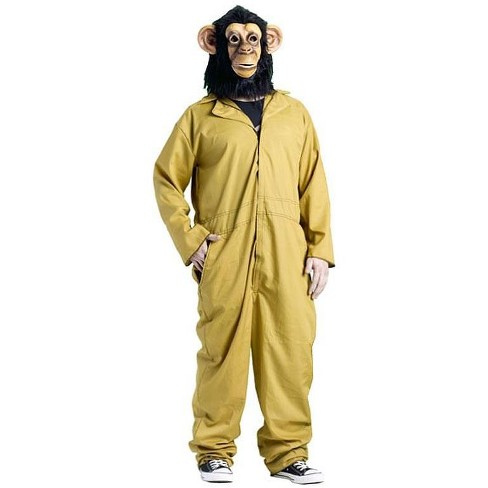 Funworld 30 Minutes Or Less Working Chimp Costume Adult One Size Fits Most - image 1 of 1