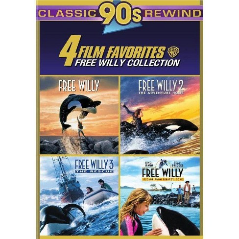 4 Film Favorites: Free Willy 1-4 (DVD) - image 1 of 1