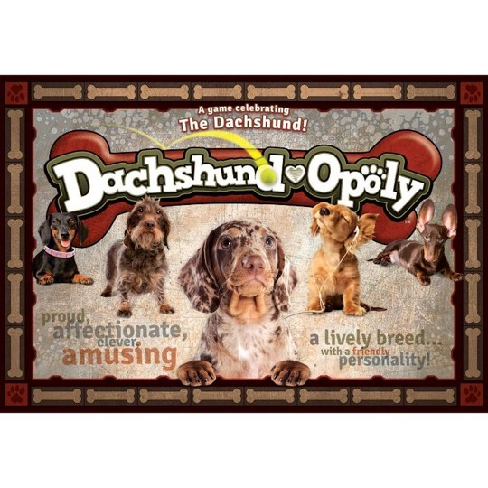 Dachshund-opoly Board Game image number null