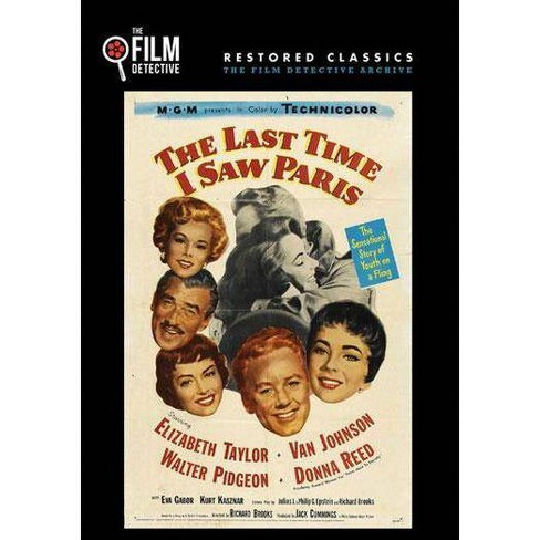 The Last Time I Saw Paris (DVD) - image 1 of 1