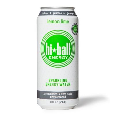 Hi-Ball Energy Lemon Lime Sparkling Water - 16oz