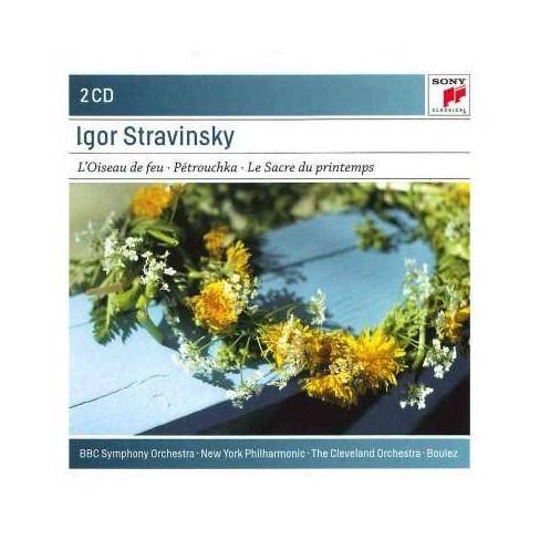 Igor Stravinsky - Stravinsky: The Firebird/Petrouchka/Le Sacre Du Printemps (CD) - image 1 of 1