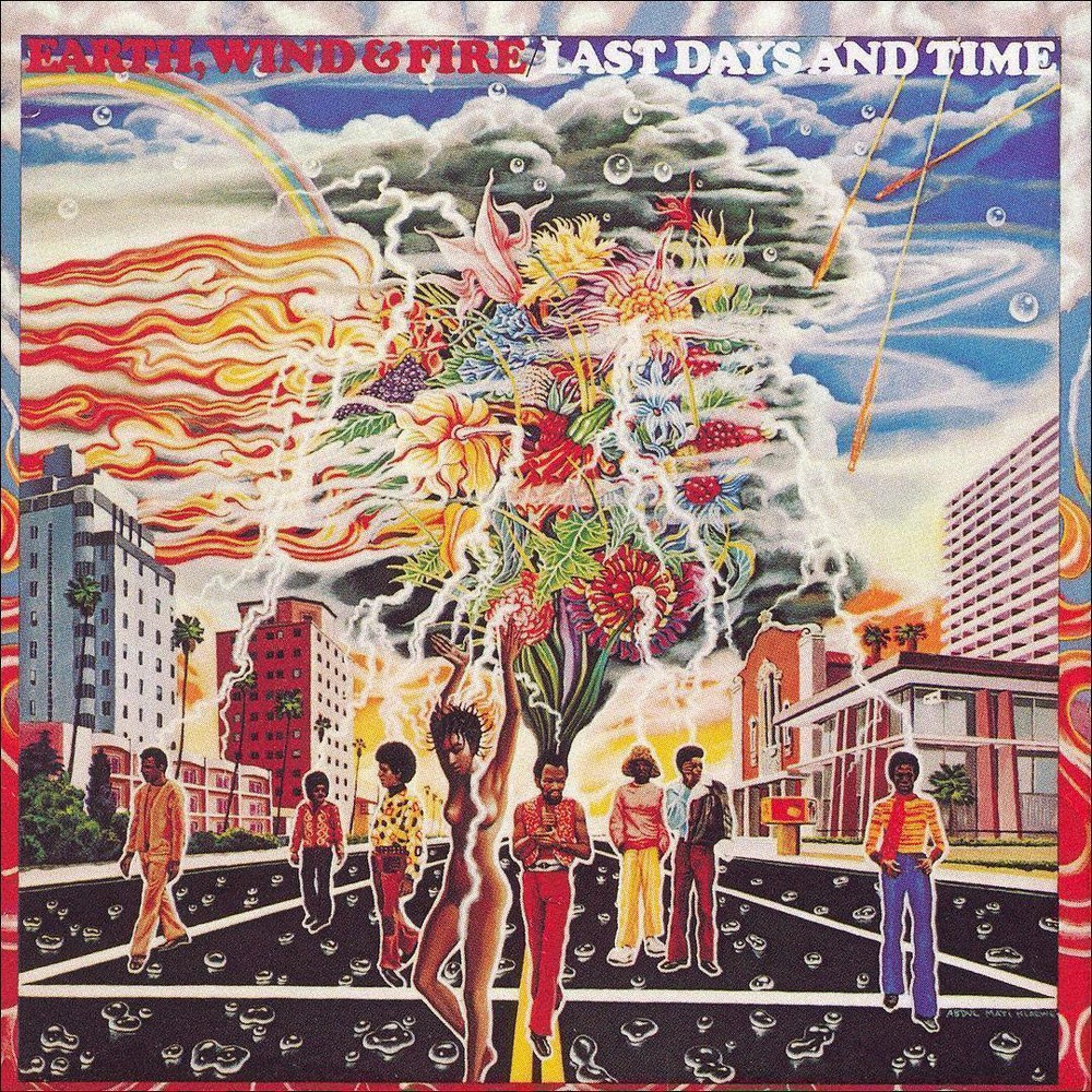 Wind & Fire Earth - Last Days And Time (CD)