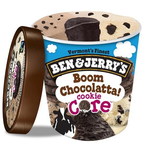 Ben & Jerry's Ice Cream Boom Chocolatta! Cookie Core - 16oz - image 1 of 4