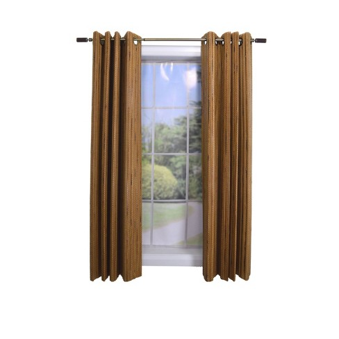 Unbanded Bamboo Shade Panel Brown - Versailles Home Fashions - image 1 of 4