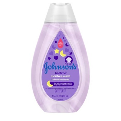 Johnson's Bedtime Moisture Wash - 13.6 fl oz
