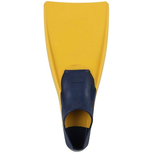 U.S. Divers 240785 Sea Lion Rubber Floating Snorkeling Fins, Size Medium, Yellow - image 1 of 2