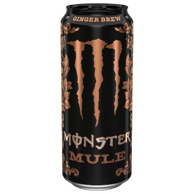 Monster Mule Ginger Brew Energy Drink - 16 fl oz Can