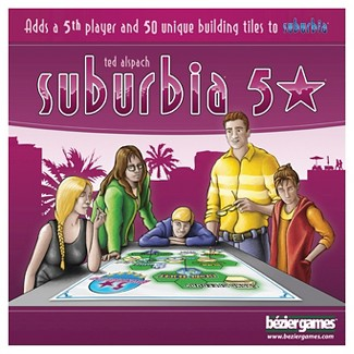 Suburbia Board Game 5 Star Expansion Pack : Target